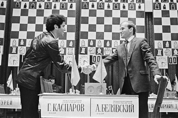 Гаррі Каспаров і Олександр Білявський