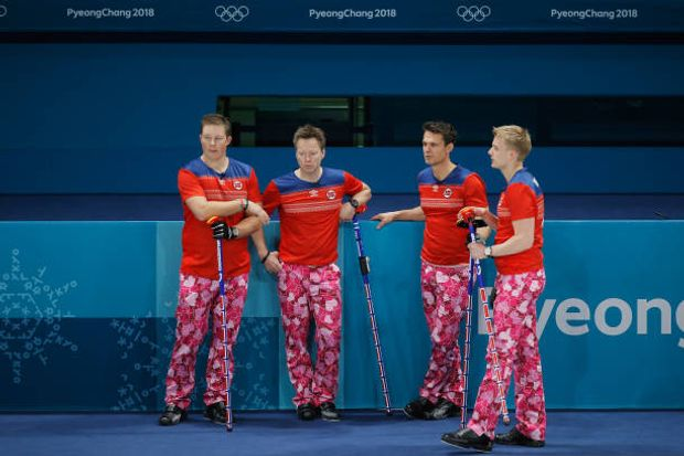 День Валентина Норвегія Олімпіада