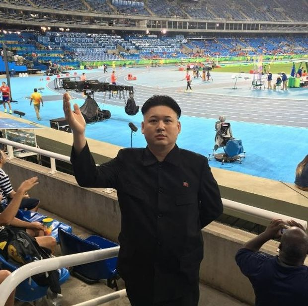 Двійника Кім Чен Ина вивели з хокею на Олімпіаді-2018