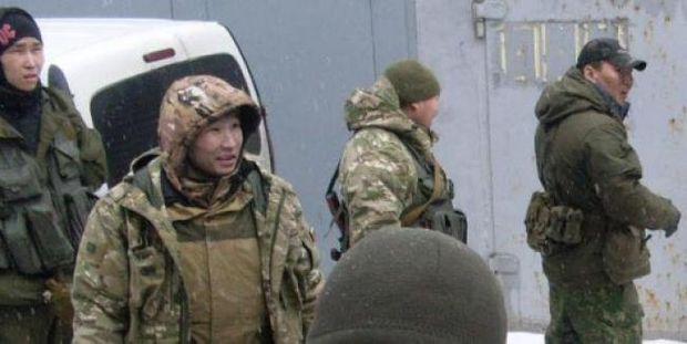 Буряти на Донбасі