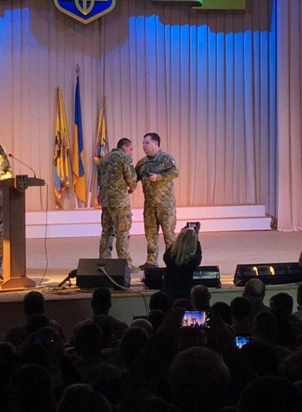 Нагородження бійців батальйону
