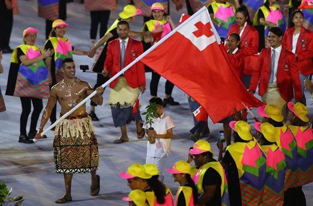 Олімпіада-2016 Тонга  Піта Тауфатофуа