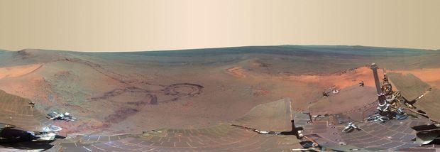 Знімок з марсоходу
