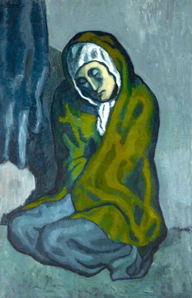 Пікассо, картина, Жінка, що сидить