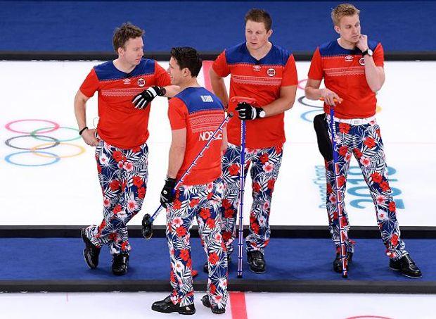 Норвегія керлінг Олімпіада 2018