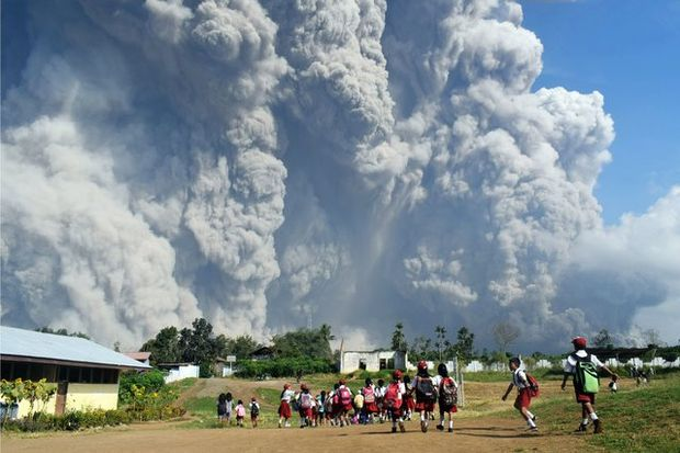 Індонезія вулкан