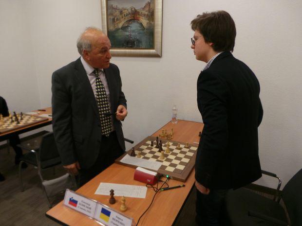 Олександр Білявський і Кирило Шевченко на Матчі зірок у Києві