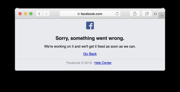 Фейсбук не працює: що сталося?