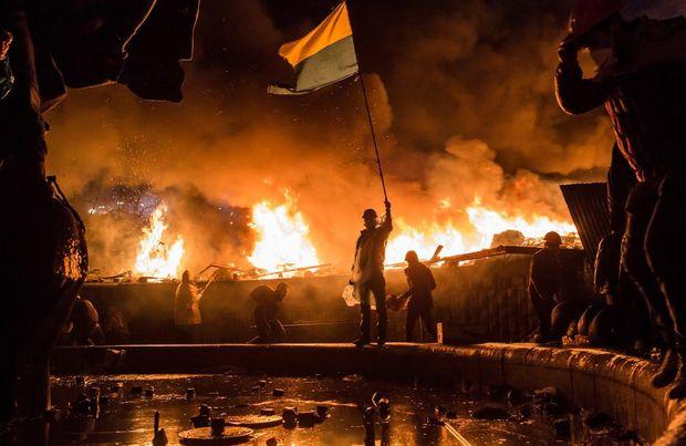 Сутички на Євромайдані