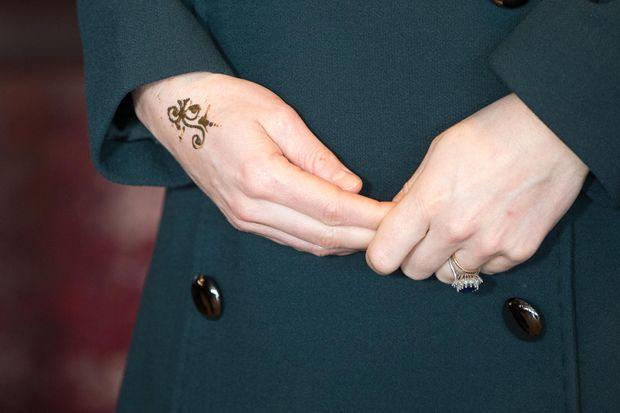 Кейт Міддлтон зробила собі тимчасове татуювання