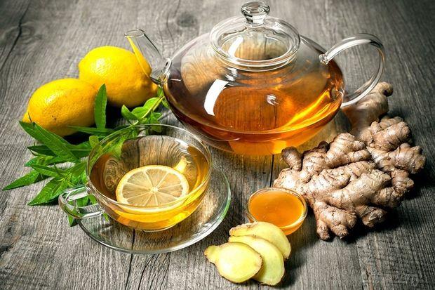 Рецепт імбирного чаю з лимоном