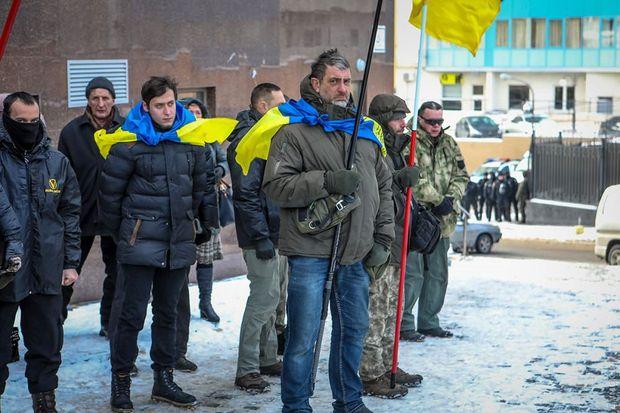 Протести в Одесі біля консульства Росії