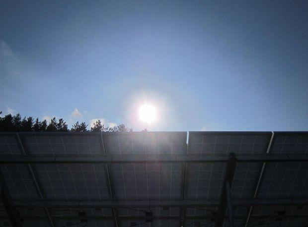 Сонячні електропанелі