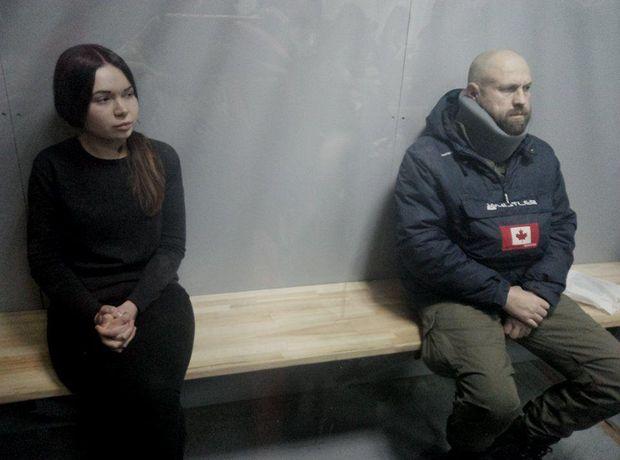 Олені Зайцевій та Геннадію Дронову зачитали обвинувальний акт