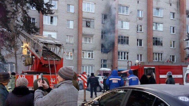 Пожежа у Росії