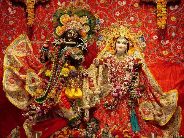 Крішна і його кохана Радха