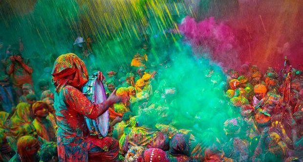 Свято Холі в Індії