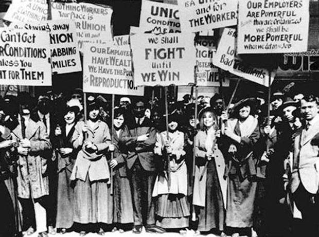 Марш порожніх каструль 8 березня 1857 року