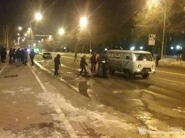 Вибух у центрі Донецька