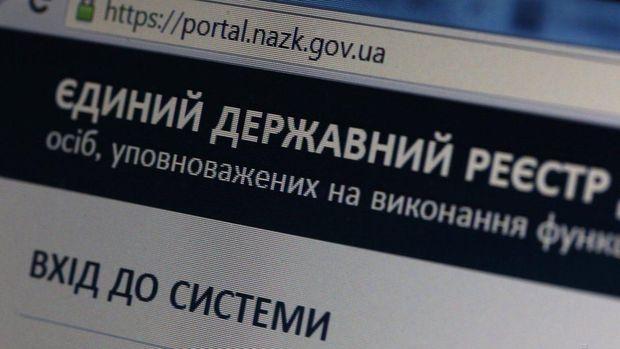 Державний реєстр електронних декларацій