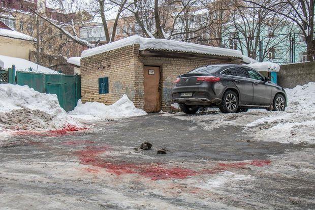 У центрі Києва зарізали чоловіка