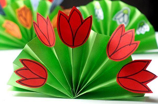 Листівка на 8 березня своїми руками –