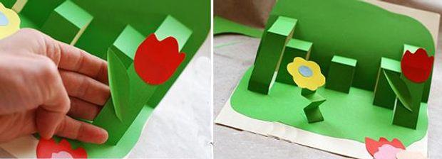 Як зробити листівку на 8 березня