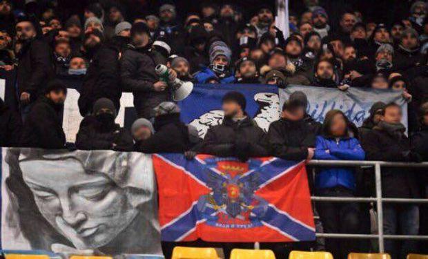 Лаціо, фанати, Новоросія, Бухарест, Румунія, Ліга Європи