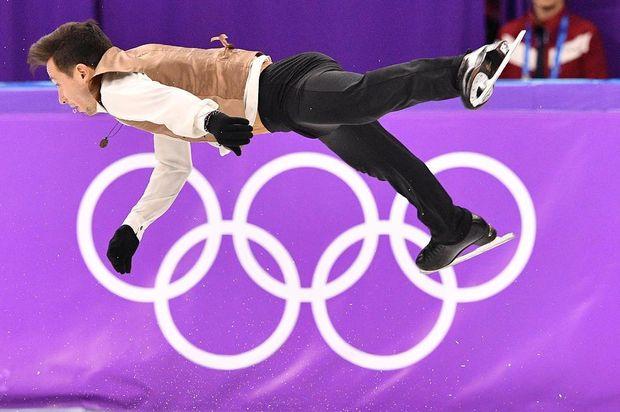 Виступ Олексія Биченка на Зимових Олімпійських іграх у Пхьончхані