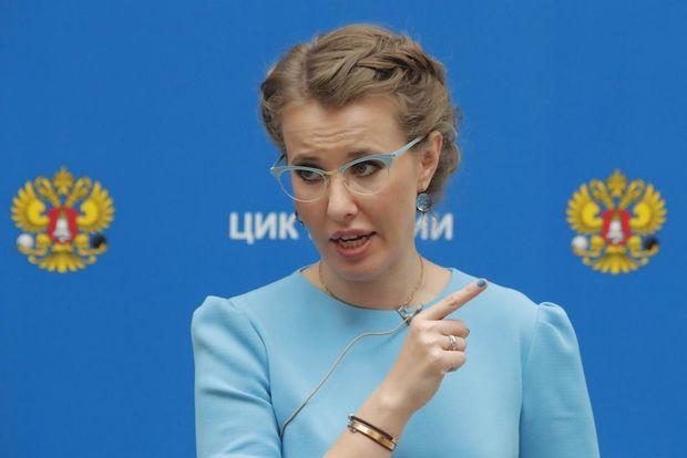 Собчак хоче відвідати анексований Крим