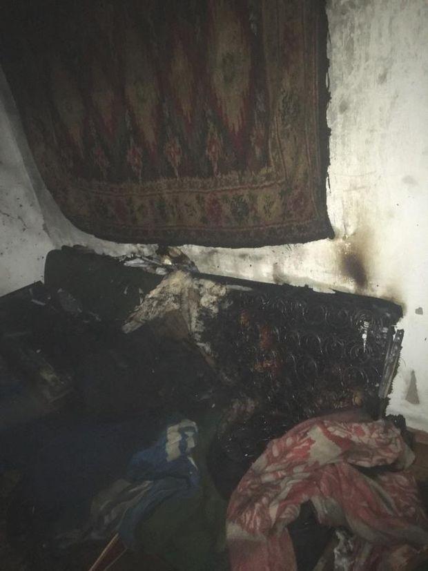 Чоловік згорів живцем на Дніпропетровщині