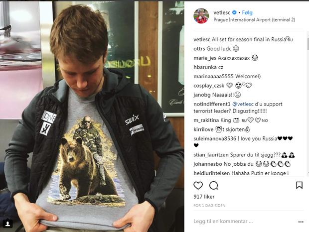 Крістіансен футболка з Путіним