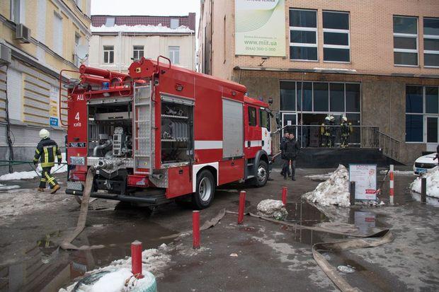 Київ, пожежа, Олімпійський, квартира