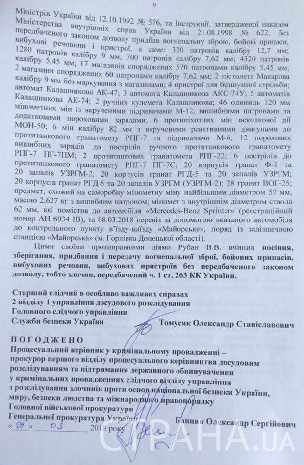 Рубан, СБУ, Кримінал, вбивство, президент, ВР, Донбас