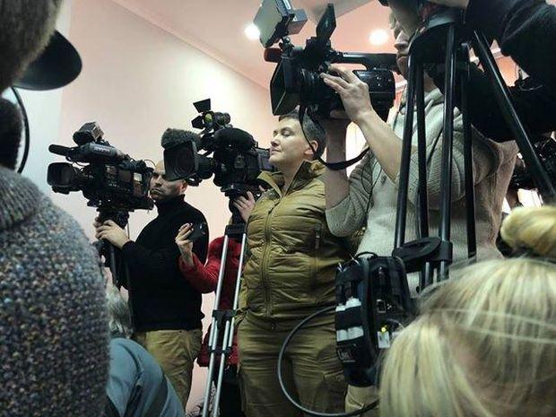 Савченко осоромилася у суді щодо справи Рубана