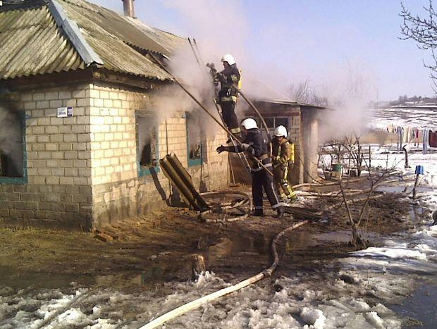 В пожежі загинуло 3 дітей