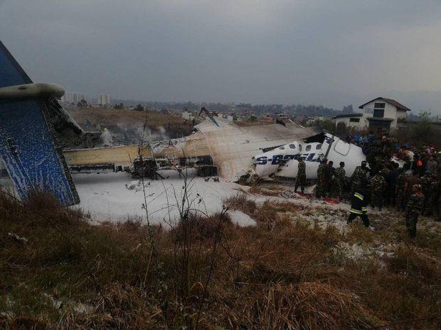 Авиакатастрофа в Непале