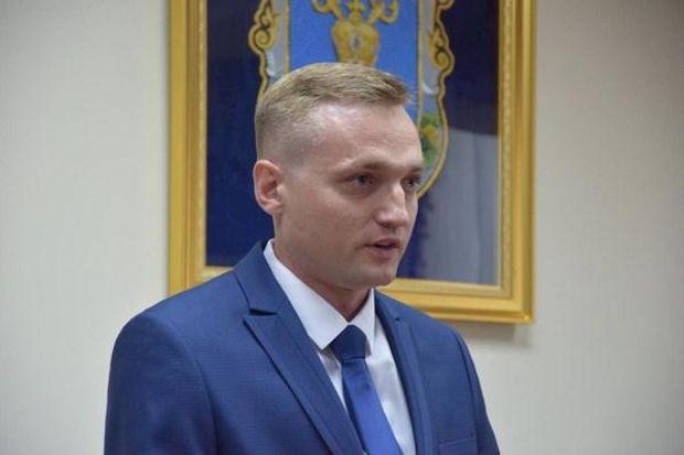 Нинішній виконувач обов'язків директора аеропорту Владислав Волошин