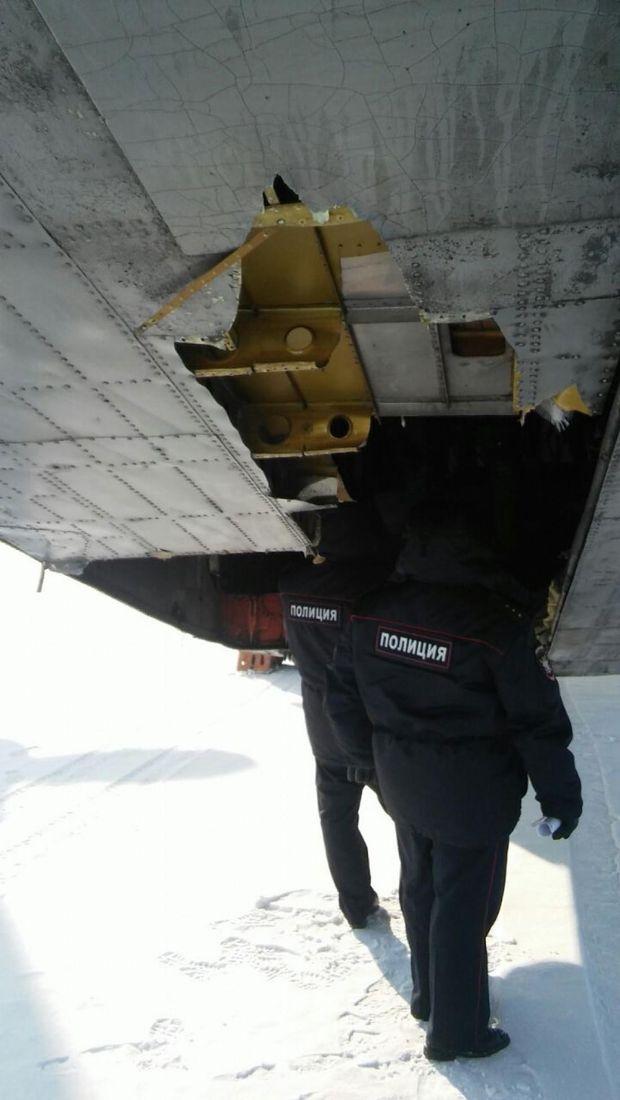 У Росії літак