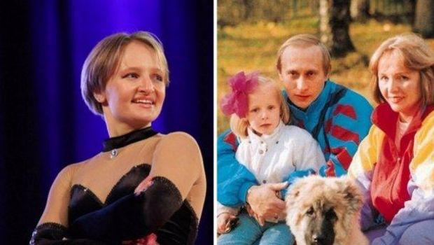 Молодша донька Путіна Катерина Тихонова