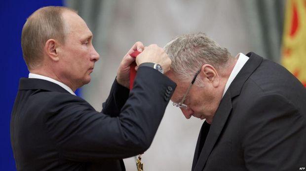Володимир Жиріновський весь час обіцяє стерти Україну з лиця Землі