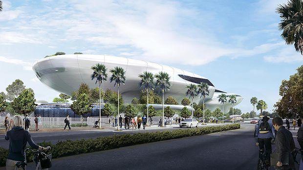ВЛос-Анджелесе началось строительство музея «Звездных войн»