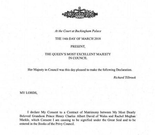 ЄлизаветаII дала офіційну відповідь щодо весілля принца Гаррі