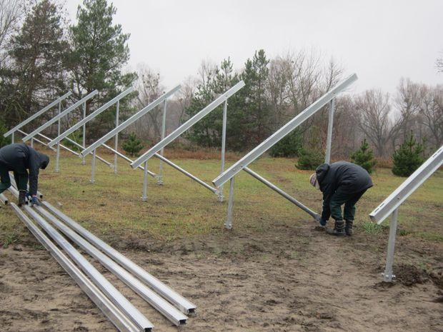 Конструкція під сонячну електростанцію