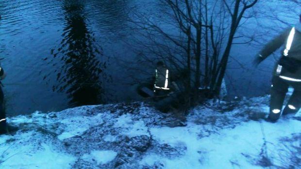 Жінка стрибнула з 45-метрового мосту на Житомирщині