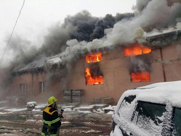 Пожежа у супермаркеті Закарпаття