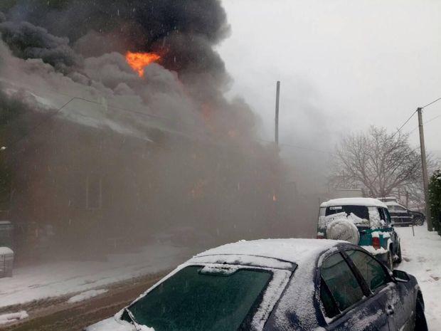 Пожежа на Закарпатті