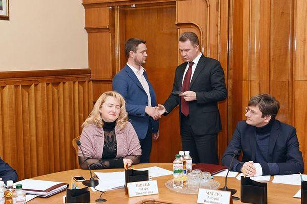Михайло Побочіх Охендовський ЦВК