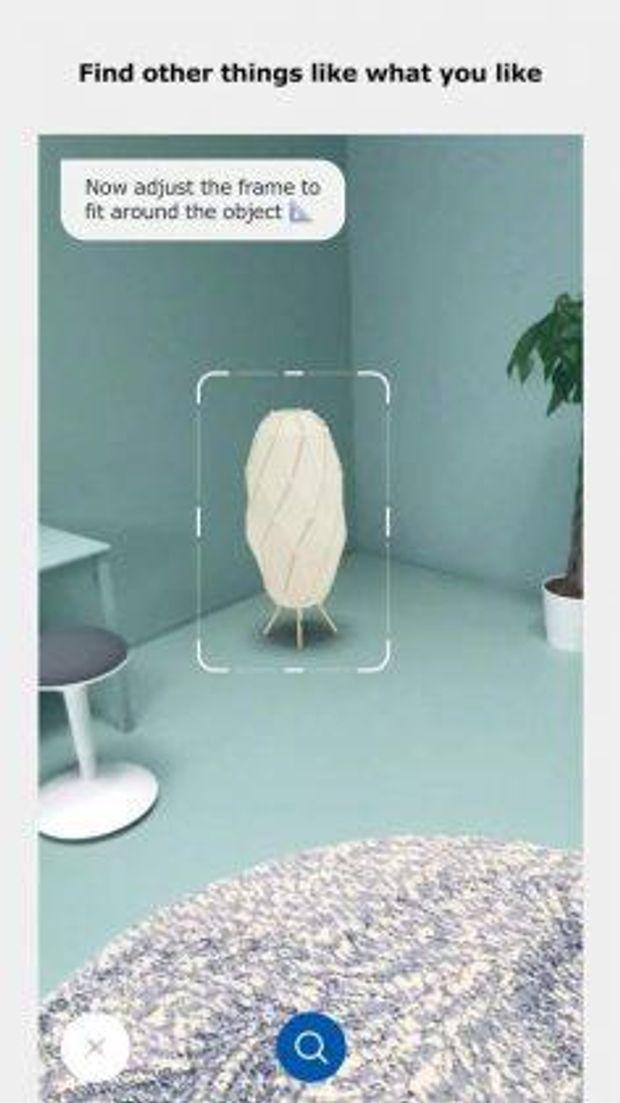Додаток IKEA може віртуально «розмістити» меблі з каталогу в кімнаті