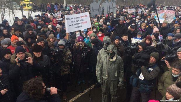 Бунт в городе Волоколамск